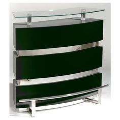 Chintaly Imports XENIA-BAR Contemporary Bar ($854) ❤ liked on Polyvore featuring home, furniture, storage & shelves, bar cabinets, gloss black, storage furniture, lacquer furniture, modern classic furniture, contemporary storage furniture and contemporary liquor cabinet