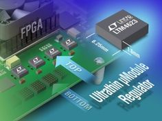Tiny package 3A regulator designed for PCIe cards