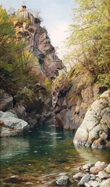 by Peder Mork Monsted (1859-1941).