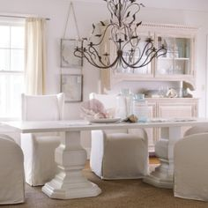 Double Pedestal Killington Table