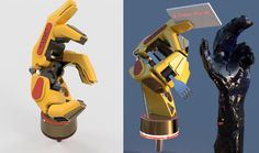 Amazing prosthetic designed by A.B. Ingram in Fusion 360: http://autode.sk/1h5uYUi #GrabCAD