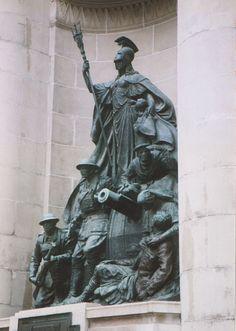 File:Liverpool News Exchange war memorial. Photo 2 by Phillip Medhurst 1992.jpg