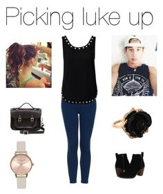 """Janoskians"" by maddiejadexo ❤ liked on Polyvore featuring Topshop, Notion 1.3, Dolce Vita, The Cambridge Satchel Company, Brooks and Irene Neuwirth"