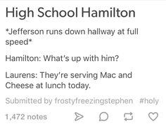 Fun fact: Jefferson had his own recipe for Mac and cheese written fown