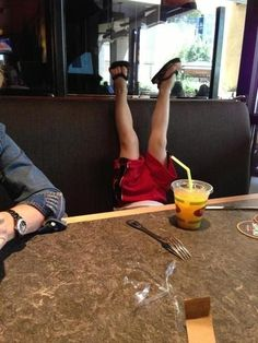 They conduct themselves poorly in public. | 27 Reasons Kids Are Pretty Much Just Tiny Drunk Adults