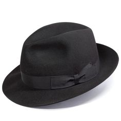 *borsalino's classic fedora, this one's is of medium quality, a little thick yet better for heavy weather