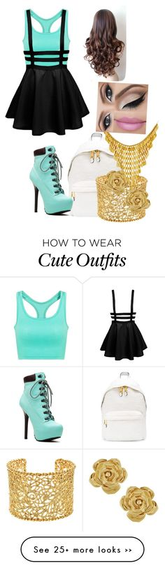 """""""Outfit"""" by wyldstyle20 on Polyvore featuring Moschino, Brooks Brothers and Vintage"""