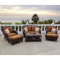 Rossano 6-piece Patio Deep Seating Set