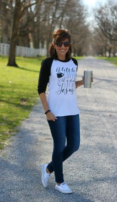 27 Days of Spring Fashion: Graphic Tees - Grace & Beauty