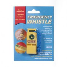 Emergency Essentials® Emergency Whistle