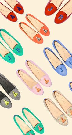 thetailorsstories:    Chatelles flats via Justina Blakeney
