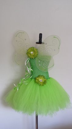 Tinkerbell Inspired Tutu Dress