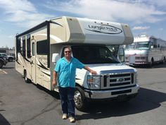 JIM's new 2014 COACHMEN LEPRECHAUN! Congratulations and best wishes from Beaver Coach Sales & Service and Eric Shaver.