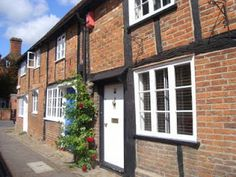 Half-timbered cottages in Church Street, Amersham, UK