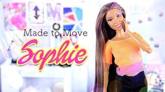 by request: Our Sophie Doll has evolved so much over the years! Take a look at our newest Custom Made to Move Sophie! - Barbie Dolls Support My Froggy Stuff . Barbie Fairy, Barbie Dolls, Diy Ooak Doll, My Froggy Stuff Videos, Diy For Kids, Cool Kids, Monster High Crafts, Myfroggystuff, Made To Move Barbie