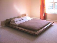 Japanese-style Platform Bed