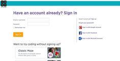 eSYSCO Login Websites Pinterest Application design
