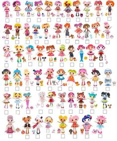 1000+ images about lalaloopsy on Pinterest | Dolls, Pets and Check lists