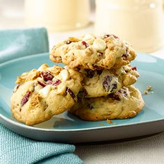 Cherry and White Chocolate Chip Cookies - All-Bran