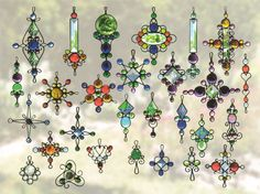 Varity of suncatchers