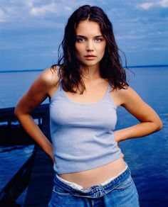Katie Holmes ~ a Shaded (Soft, Deep) Summer