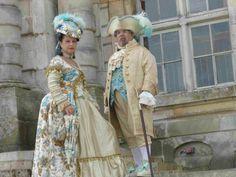 costumes Christine Marquise des îles