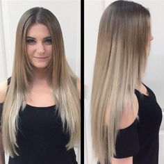 20 Glamorous Ash Blonde and Silver Ombre Hairstyles.Silver and ash blonde ombre expressions are moderately new trappings to the fashioning scene. Haircuts For Long Hair Straight, Long Layered Haircuts, Long Hair Cuts, Ash Blonde Ombre Hair, Dark Blonde, Blonde Balayage, Messy Ponytail Hairstyles, Medium Hair Styles, Short Hair Styles