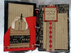 scrapbooking recipe book ideas | Scrapbooking and Memorykeeping Crafts | How To and Instructions