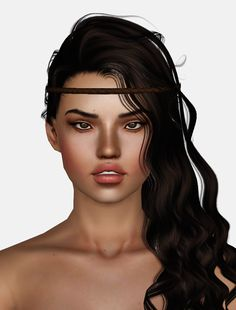 Alesso`s Dreams hairstyle retextured by Momo for Sims 3 - Sims Hairs - http://simshairs.com/alessos-dreams-hairstyle-retextured-by-momo/