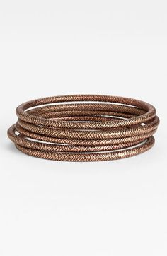 Nordstrom 'Patina' Bangles (Set of 5) available at Nordstrom - love these!