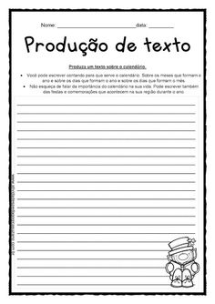 Calendário | Atividades Pedagogica Suzano Curriculum, Homeschool, Teaching Strategies, Writing Activities, Word Search, Puzzle, Punctuation Activities, Informational Texts, Adverbs