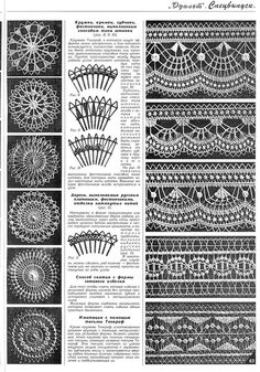 Photo from album on Yandex. Bobbin Lace Patterns, Crochet Doily Patterns, Tatting Patterns, Doilies Crochet, Tenerife, Embroidery On Clothes, Paper Embroidery, Embroidery Dress, Needle Lace