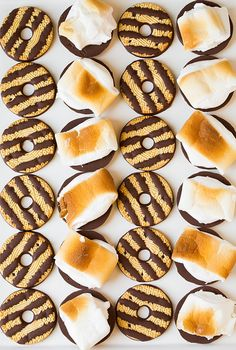 Fudge Striped S'mores | Cooking Classy