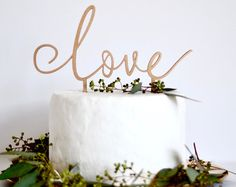 Wedding Cake Toppers | Etsy