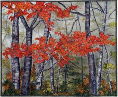 Landscape Quilts on Pinterest Landscape Art Quilts Pinterest