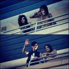 Andy biersack and Ashley Purdy. Look at how much They have changed omfg i am gonna cry!