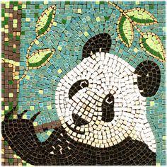 Mosaic Panda Bear