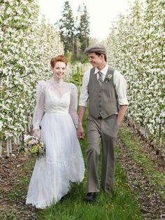 Anne of Green Gables wedding inspiration.