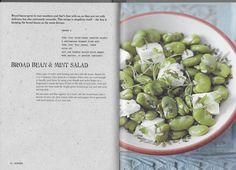 Broad Bean and Mint Salad