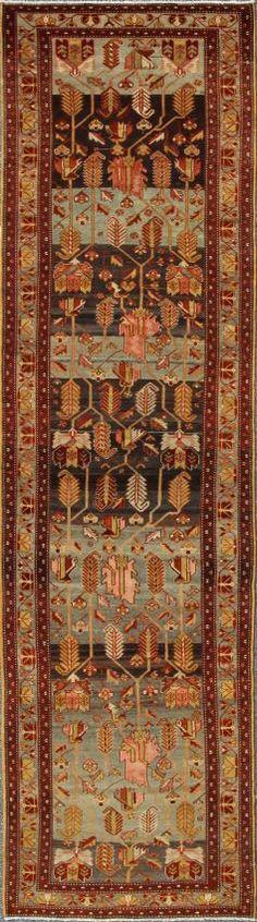 "KEIVAN WOVEN ARTS,   Type :Malayer Origin :Iran  Size : 3'8""x13'1""  Circa :1920"