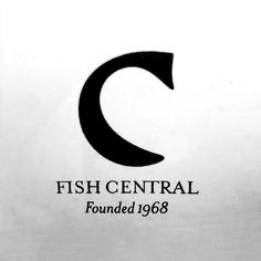Fish central logo - A wonderfully simple and powerful execution - beautiful.