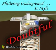 Luxury Condo Living In A Repurposed Missile Silo? http://www.wholesurvival.com/shelter/20-luxury-survival-condo-in-repurposed-missile-silo