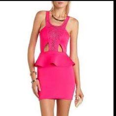 c0082a3537b53 Charlotte Russe Peplum Dress Moving Overseas