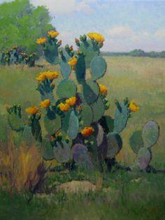 Noe Perez, Blooming Cactus Arrangement, 2015