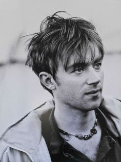 """Damon Albarn at Glastonbury, By Luke Danniells (x) "" Damon Albarn, Blur Band, Tom Odell, Liam Gallagher, Jamie Hewlett, Britpop, Ozzy Osbourne, Wattpad, Gorillaz"