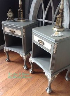 trash to treasure, painted furniture