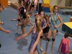 Gymnastics conditioning drills