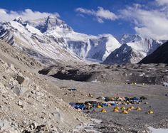 Mount Everest base camp It costs climbers up to $25,000 for a permit to climb