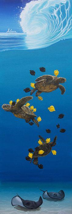 Turtle kisses by Alexa Caskey