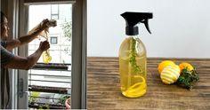 Aprende a preparar un espray desinfectante para dejar un agradable aroma en tu hogar Cleaning Recipes, Diy Cleaning Products, Cleaning Hacks, Cleaning Supplies, Diy Hacks, Limpieza Natural, Disinfectant Spray, Cleaning Spray, Cleaning